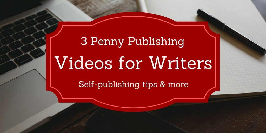 writing desk background with text videos for writers foreground