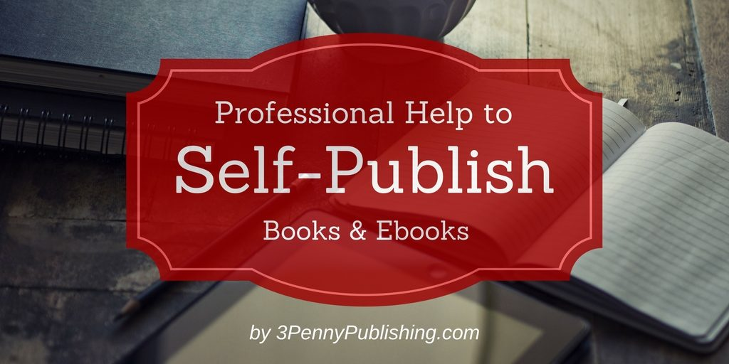 professional help for your self-published book banner