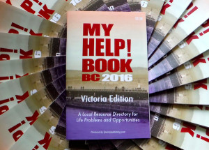 My Help Book BC - Victoria Edition 2016 - a bookazine