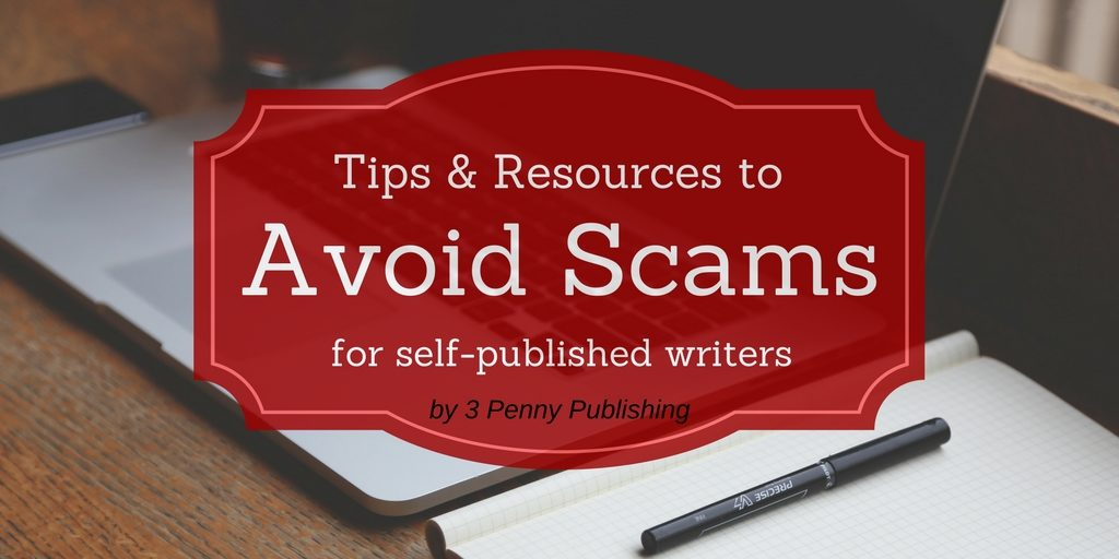 Avoid scams targeting writers banner