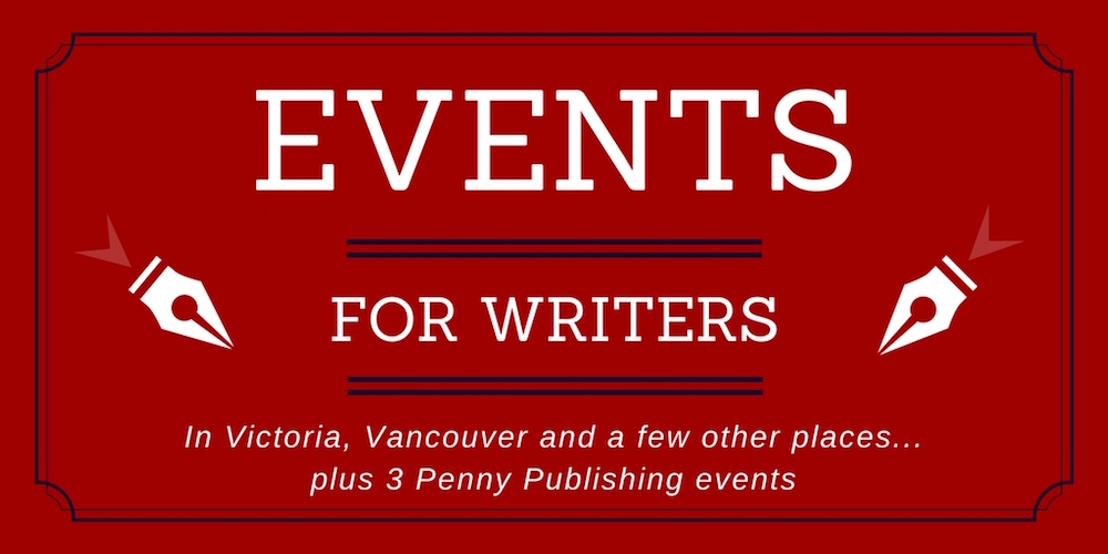 Events for Writers banner