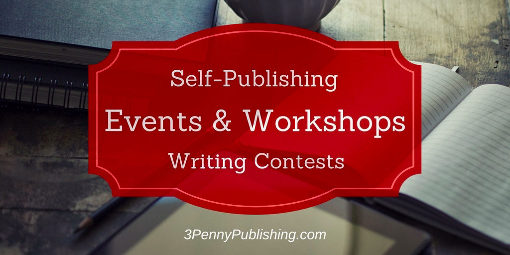 Writing events and workshops banner