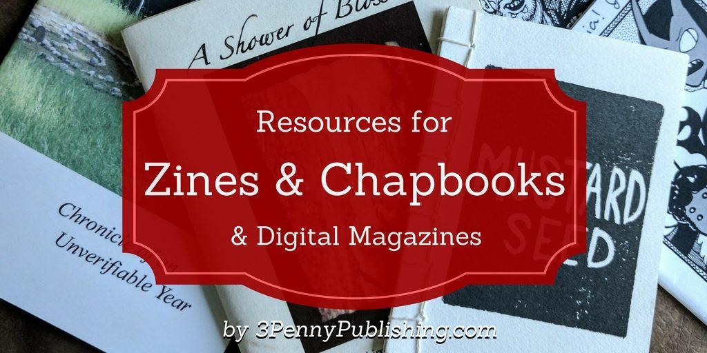 zines chapbooks magazines banner