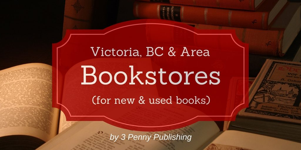 Bookstores in Victoria BC banner