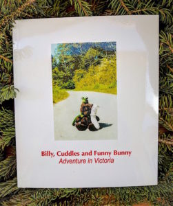 Our children's book project -Cover of children's book Billy, Cuddles and Funny Bunny Adventure in Victoria